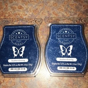 """2/SCENTSY - discontinued """"southern evening"""""""